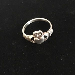 Jewelry - Sterling Claddagh Ring 7.5/8